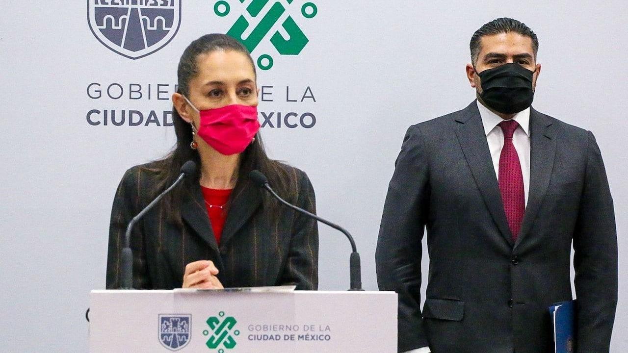 Claudia Sheinbaum, jefa de Gobierno de la CDMX y Omar García Harfuch, secretario de Seguridad Ciudadana (Cuartoscuro)