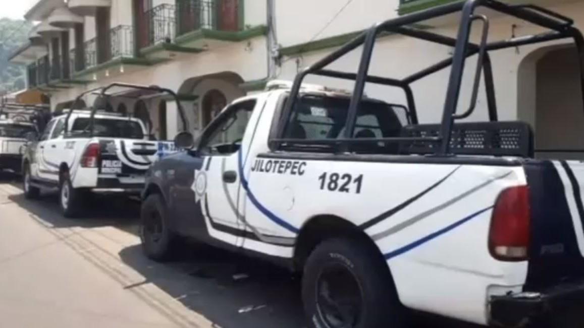 Policía de Veracruz desarma a policías municipales y toma el control de la seguridad de Jilotepec