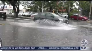 posible formacion de ciclon tropical causa lluvias intensas y viento en golfo de mexico