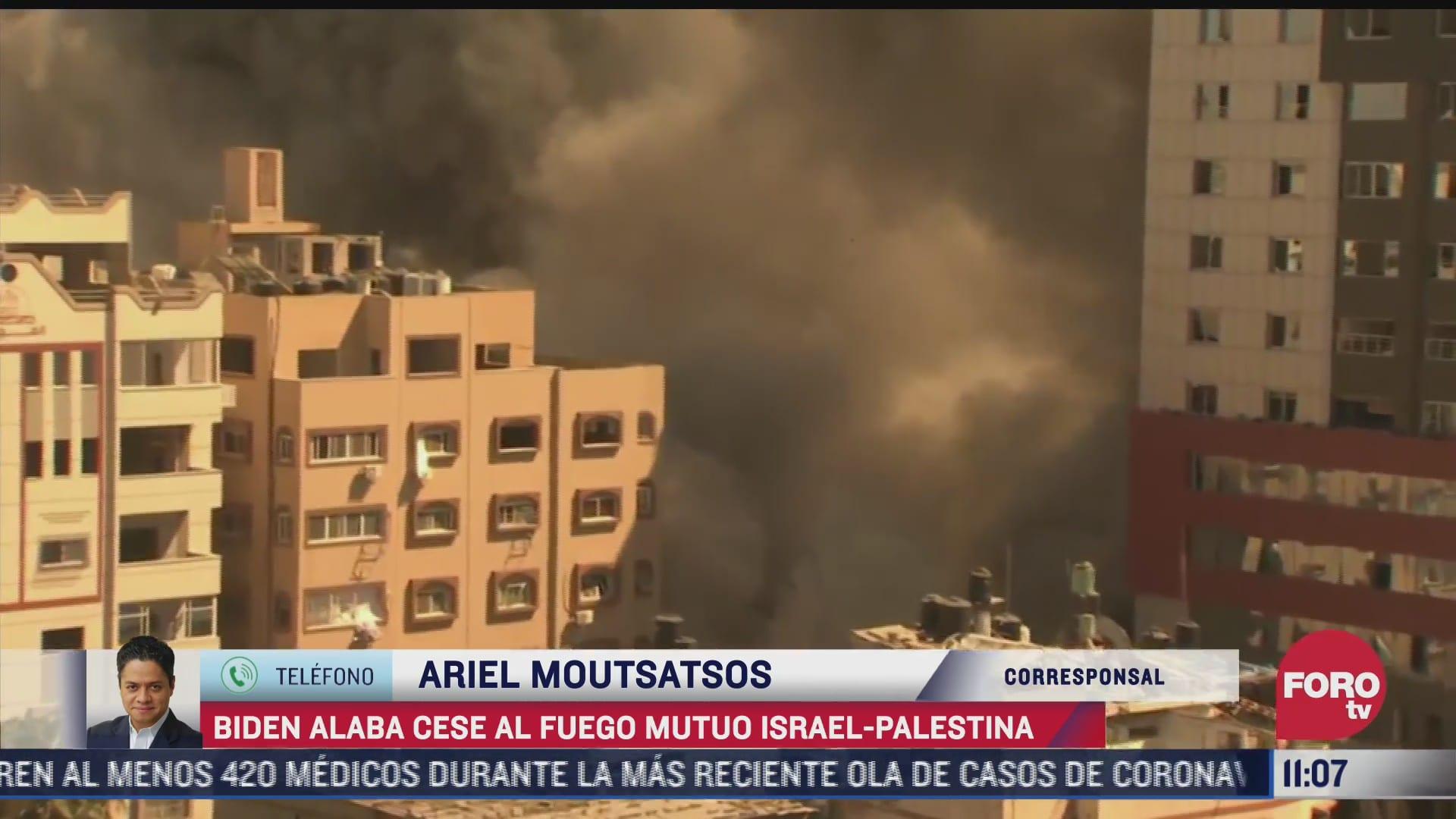 presidente joe biden reitera apoyo a la seguridad de israel