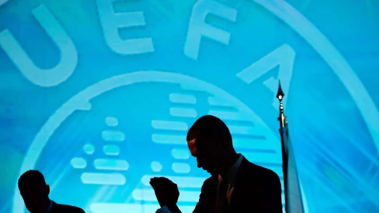 El presidente de la UEFA, Aleksander Ceferin, (Getty Images)