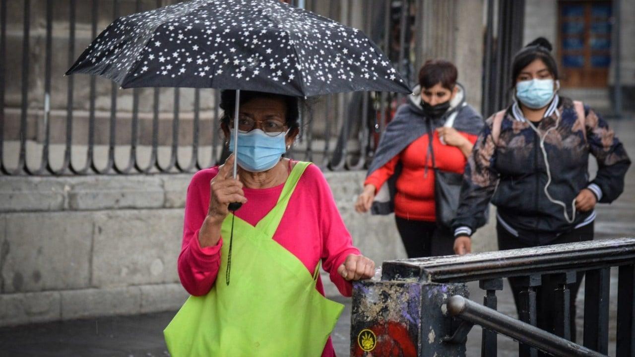 Pronostican lluvias fuertes en Chiapas, Guerrero, Michoacán, Oaxaca, Puebla, Tabasco y Veracruz