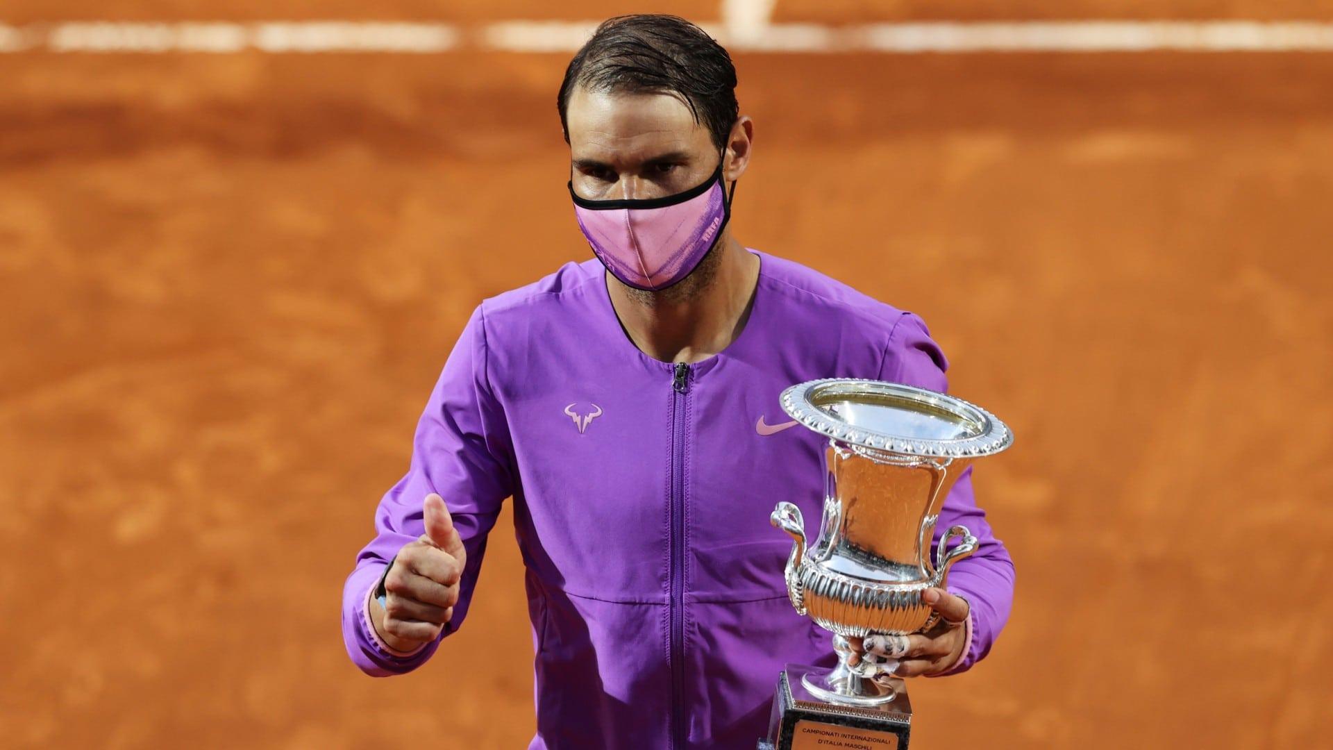 Rafa Nadal obtiene su décimo título en el Masters mil de Roma