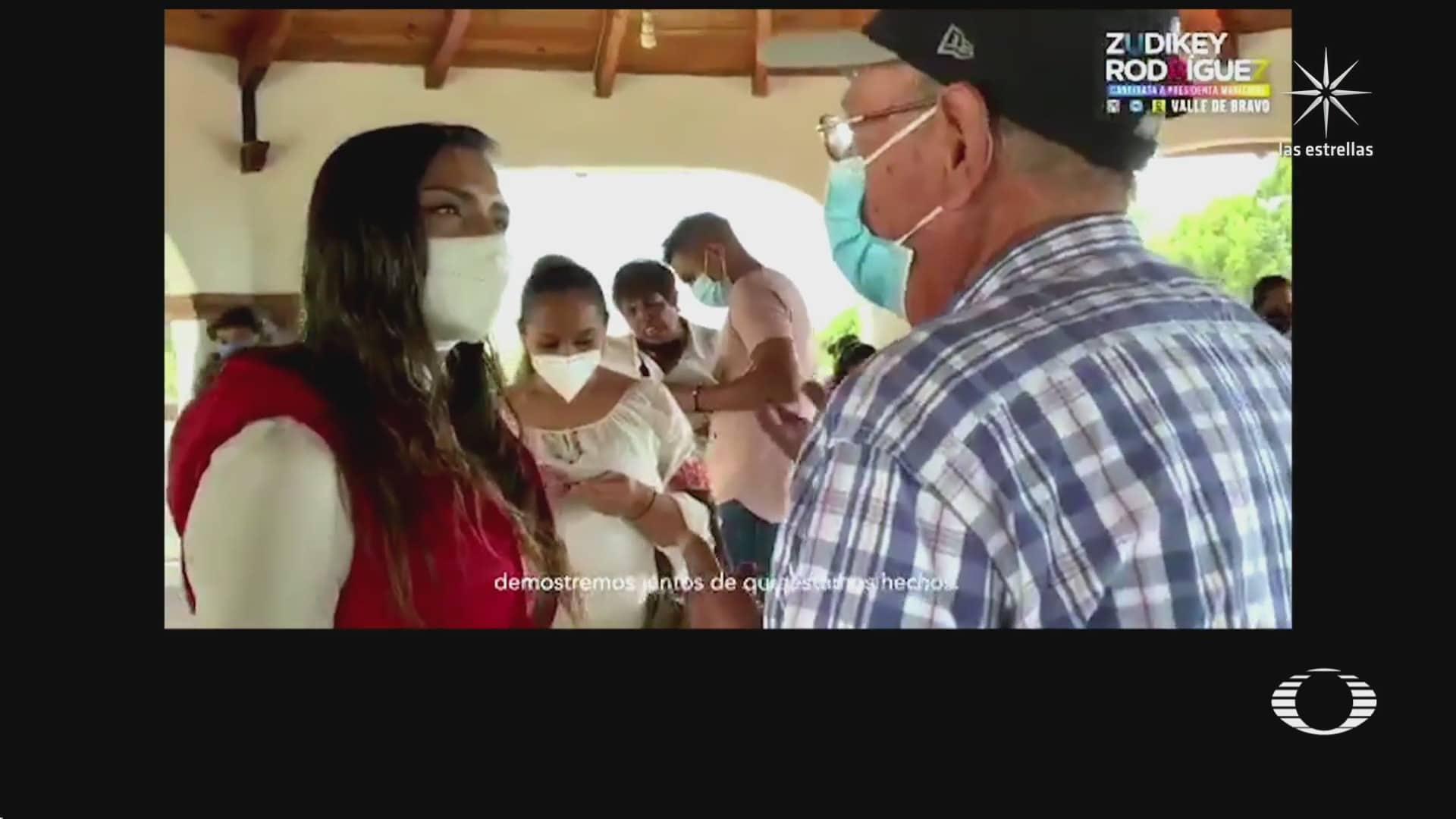 reaparece la candidata zudikey rodriguez en redes sociales