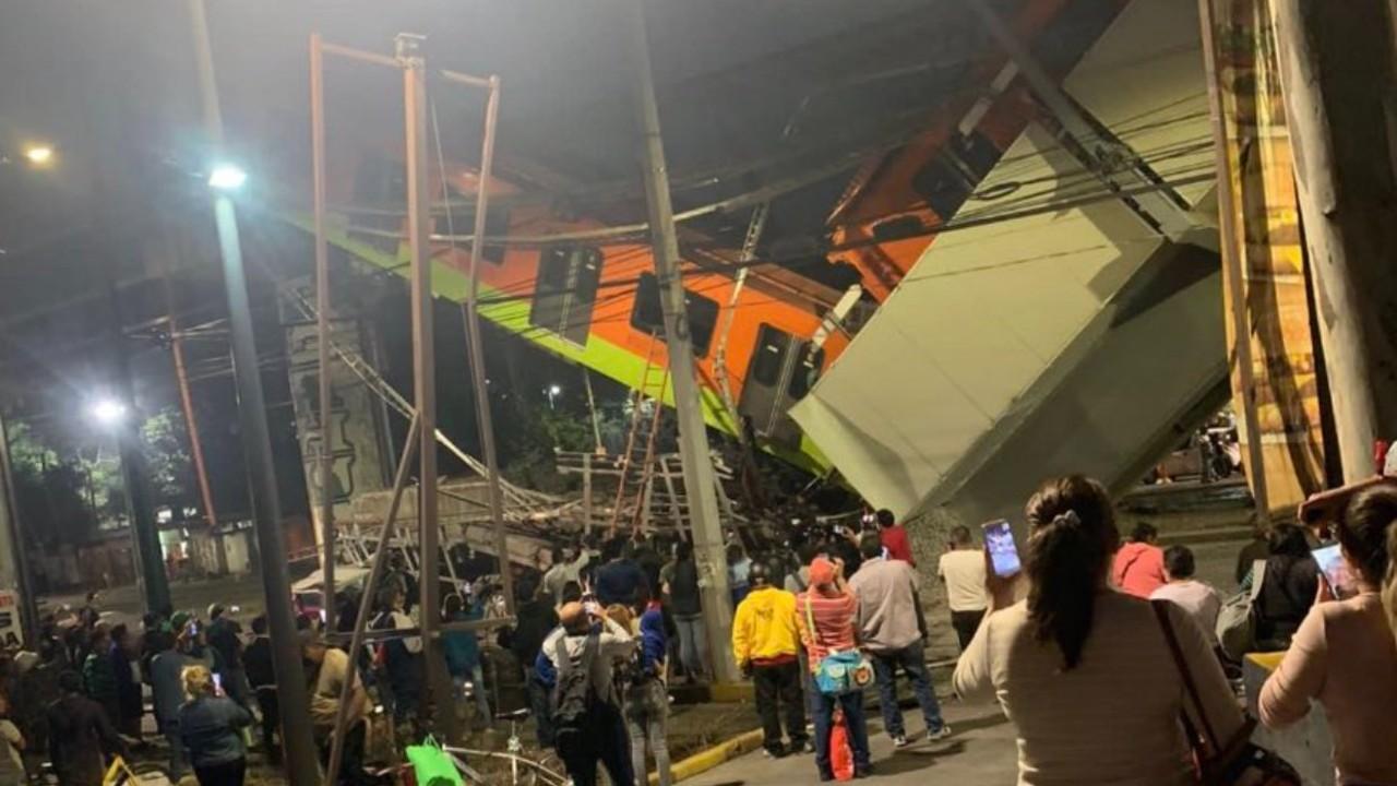 Reportan 13 muertos y 70 heridos por desplome de ballena en estación Olivos del Metro CDMX