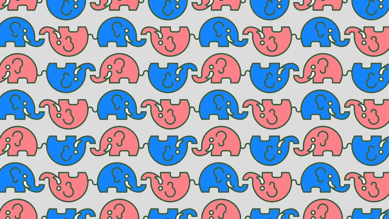 ¿Dónde están los elefantes sin colmillos?