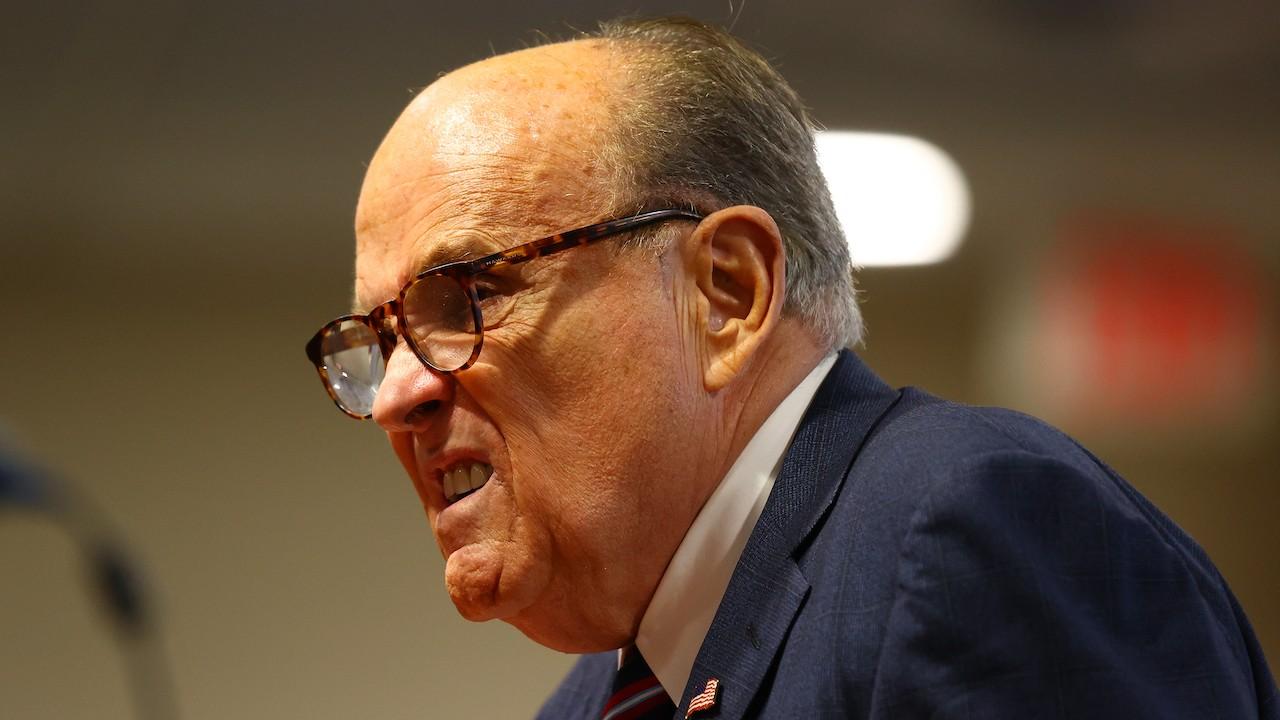Rudy Giuliani, exalcalde de Nueva York y abogado de Donald Trump (Getty Images)