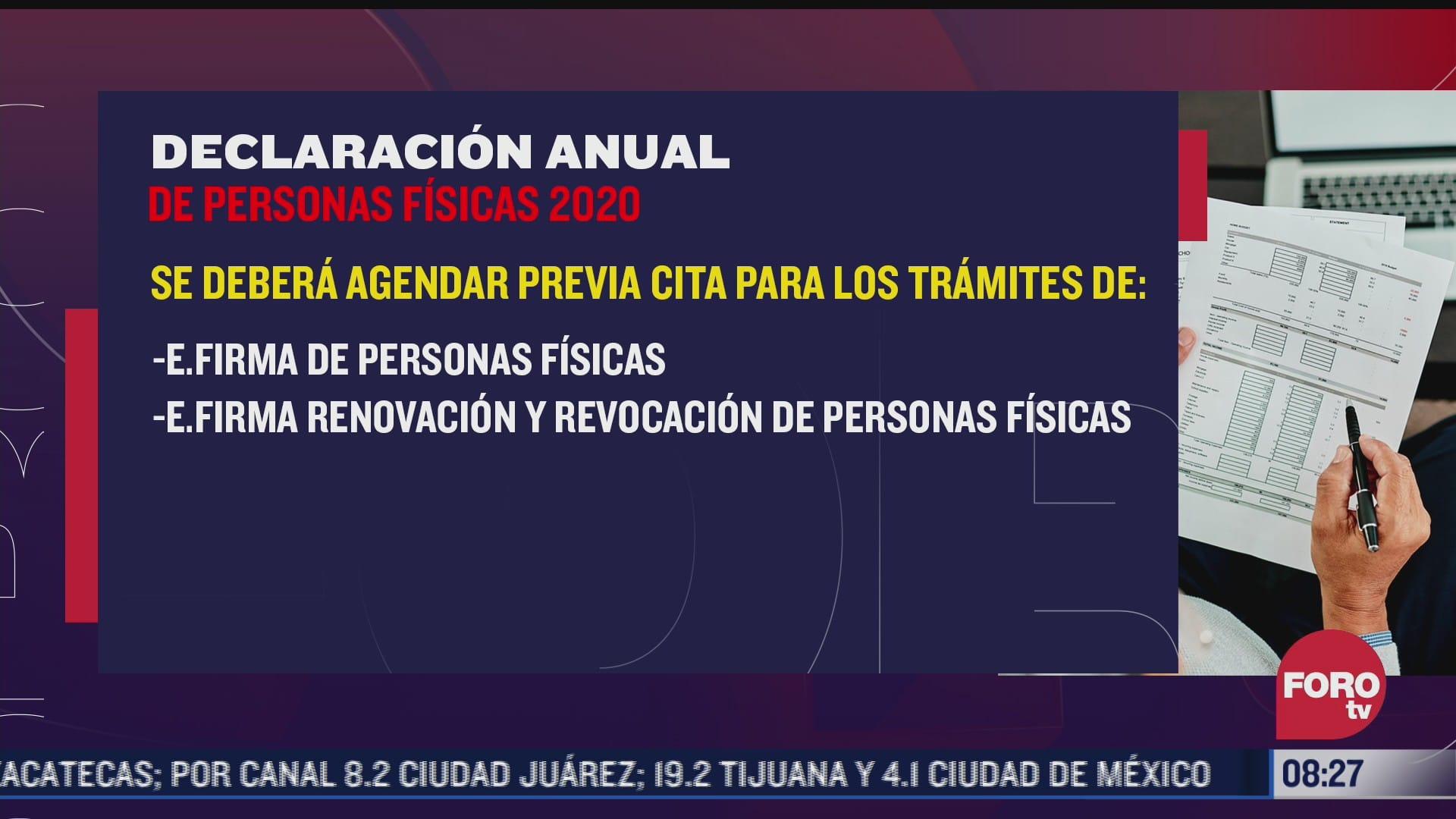 sat 31 de mayo vence plazo de ampliacion para presentar declaracion anual
