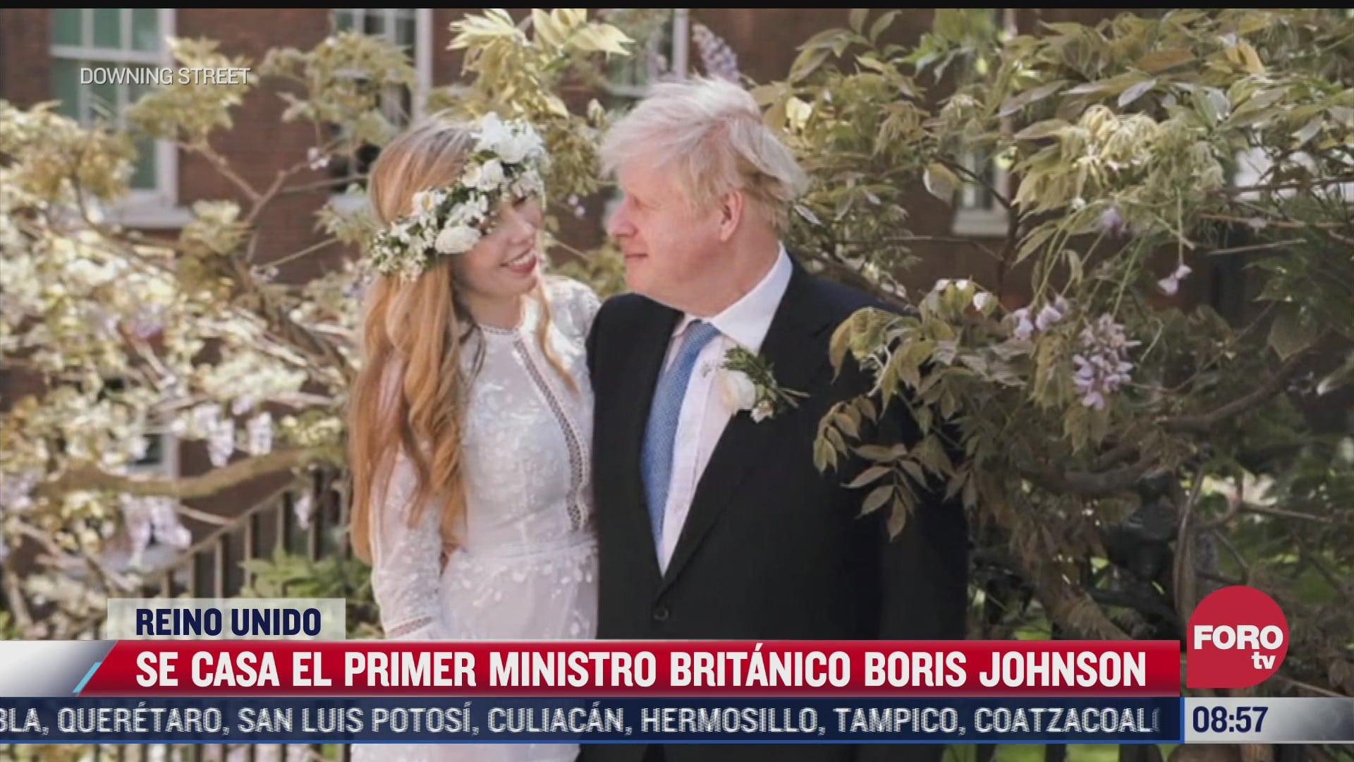 se casa el primer ministro britanico boris johnson en londres