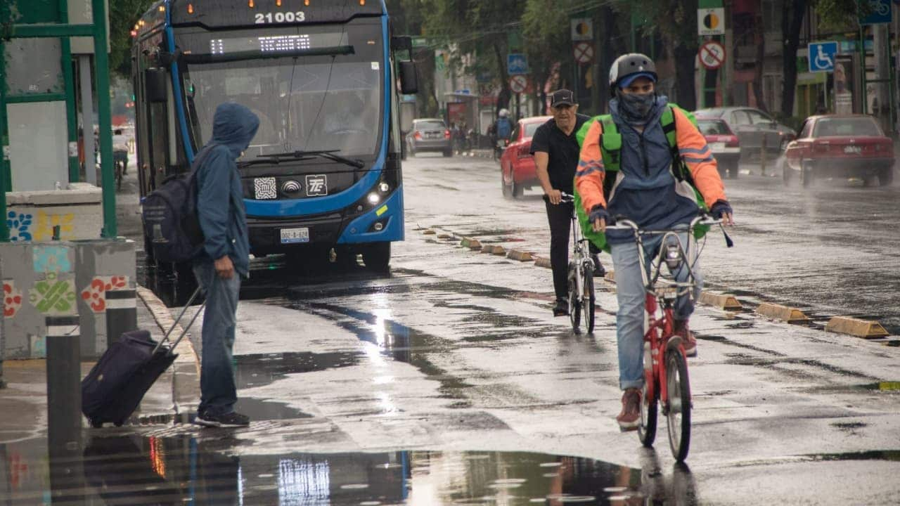Se pronostican fuertes lluvias en gran parte de México