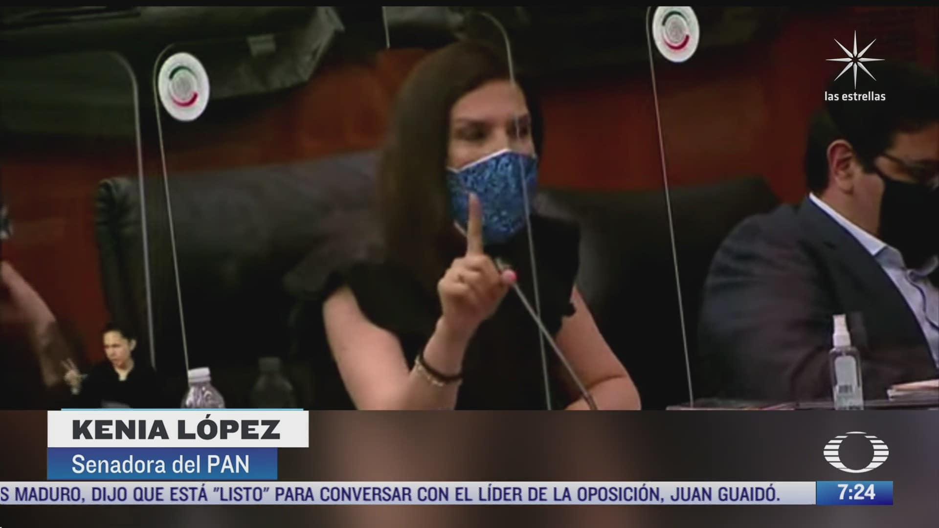 senadoras de morena y de oposicion protagonizan duro debate sobre accidente en l