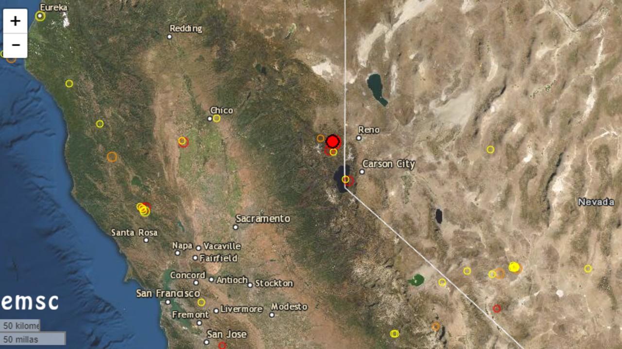 Sismo de magnitud 4.7 se registra en California, Estados Unidos