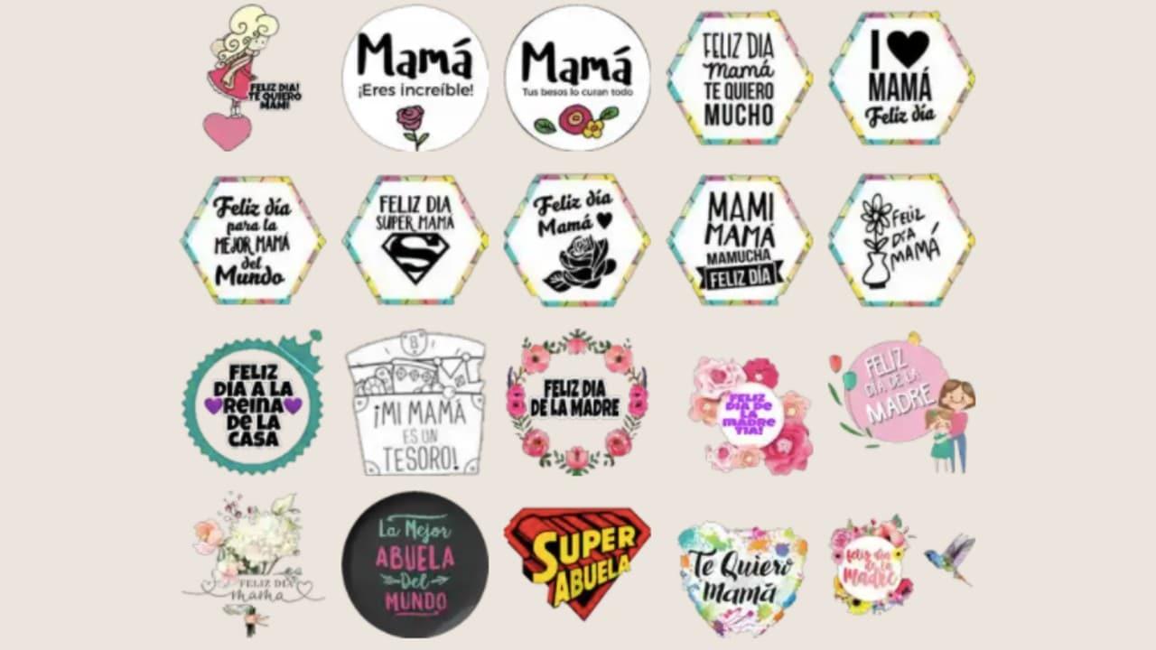 Dónde obtener los mejores stickers de WharsApp para el Día de las Madres