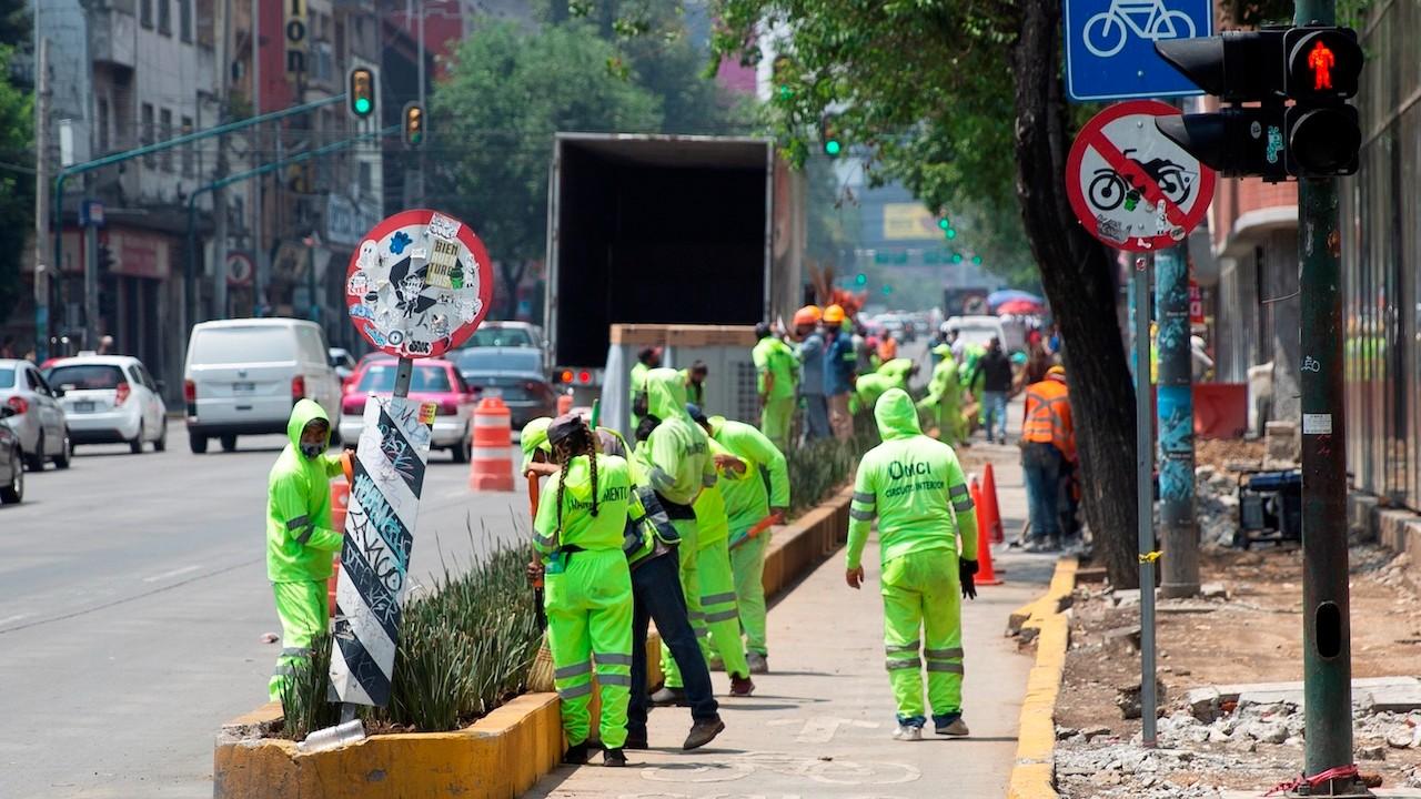 Trabajadores en México (EFE)