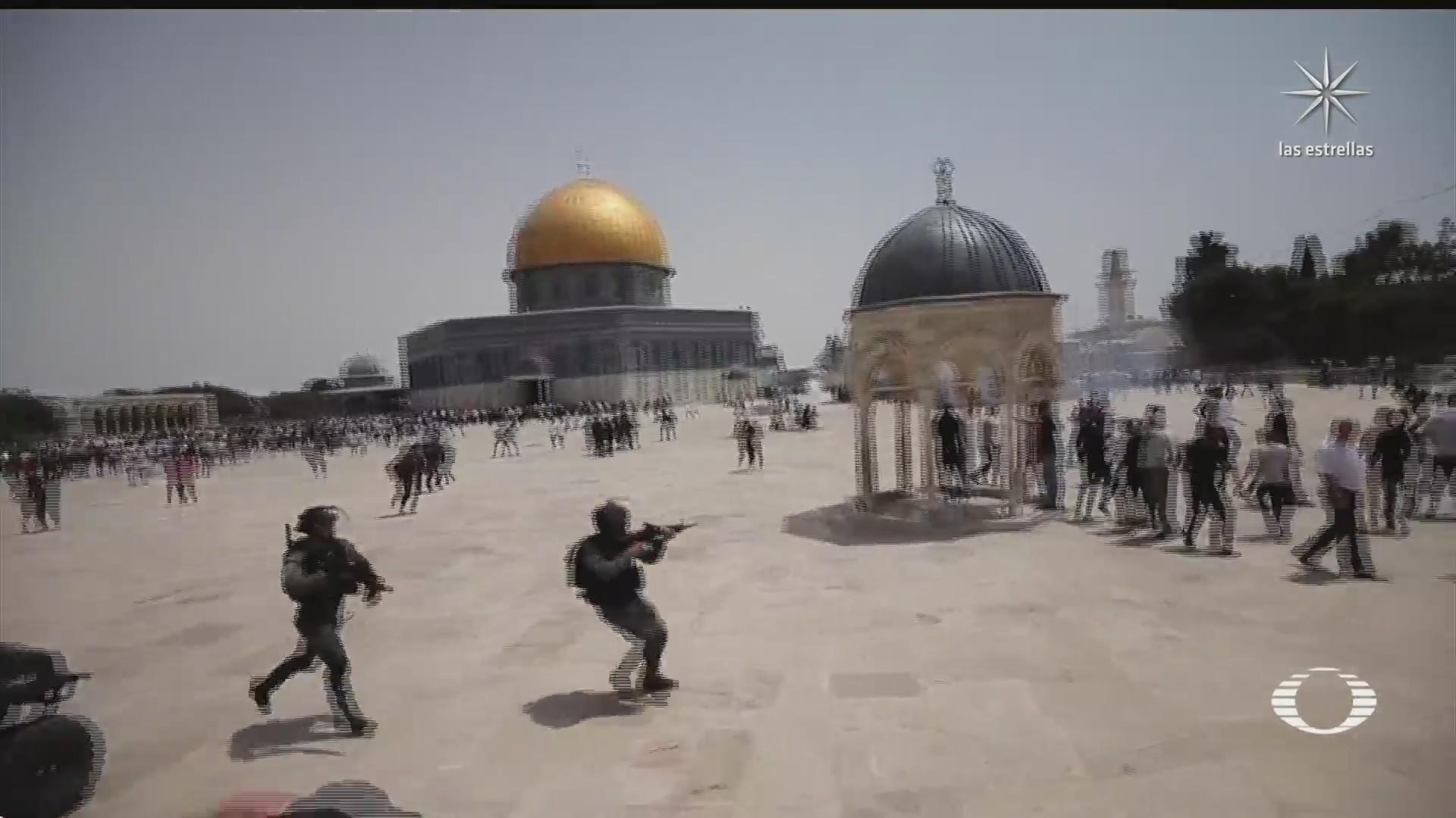 tras el alto al fuego en israel se registran enfrentamientos y movilizaciones
