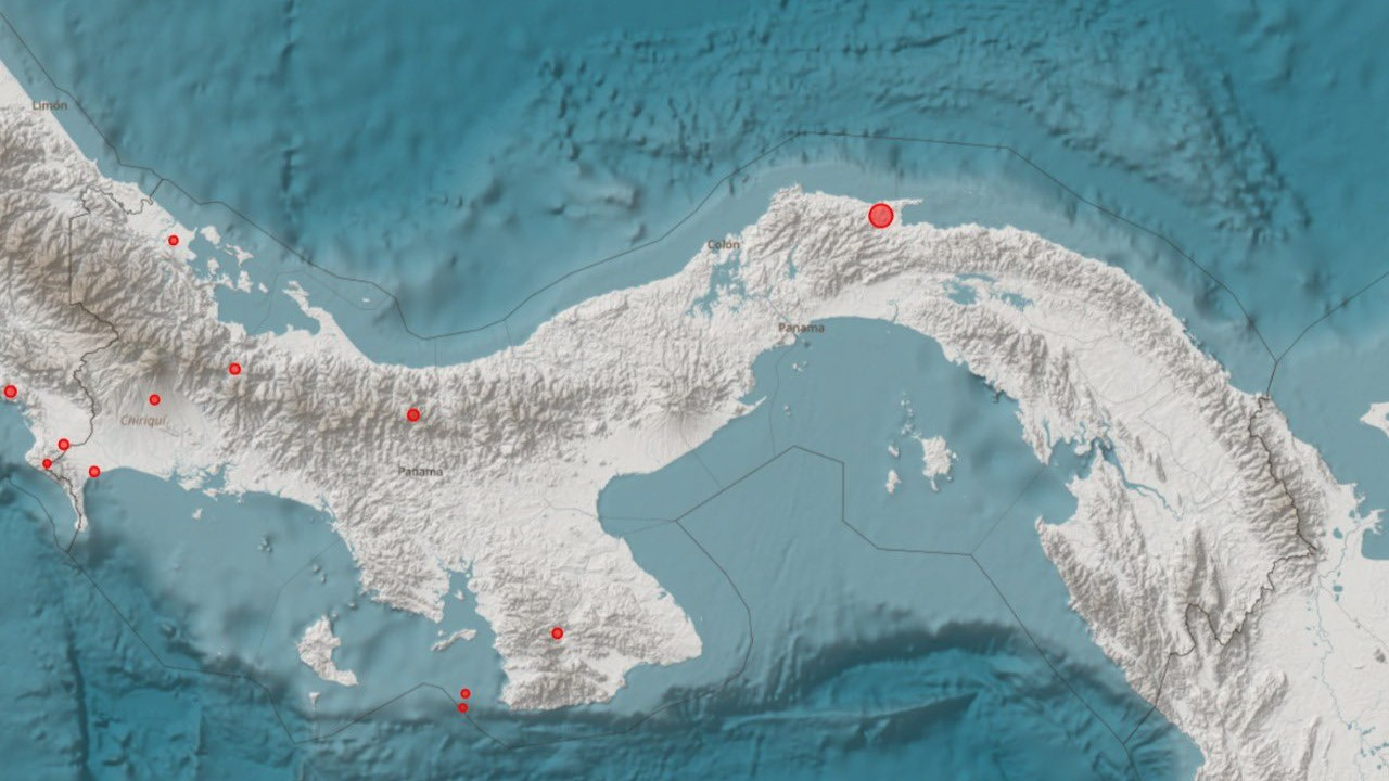 Un sismo sacude la capital de Panamá; no se reportan daños