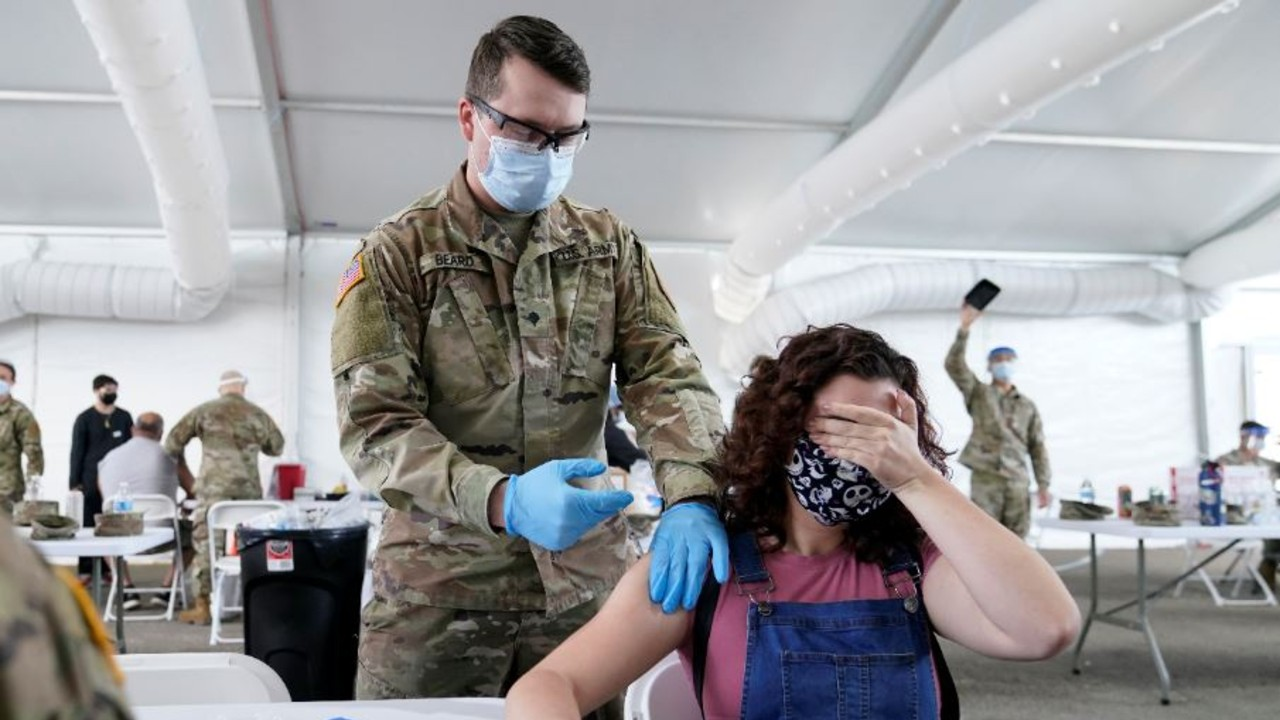 Vacunación en Florida, EEUU