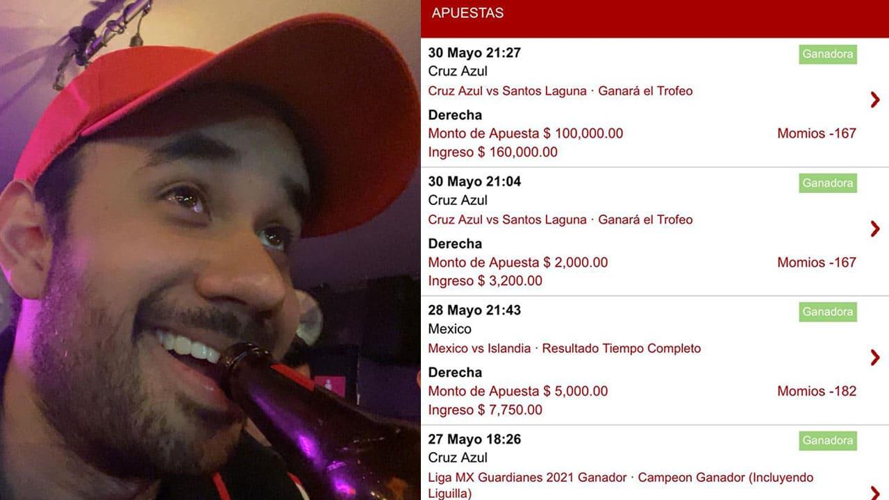Youtuber apuesta un peso por cada like al Cruz Azul