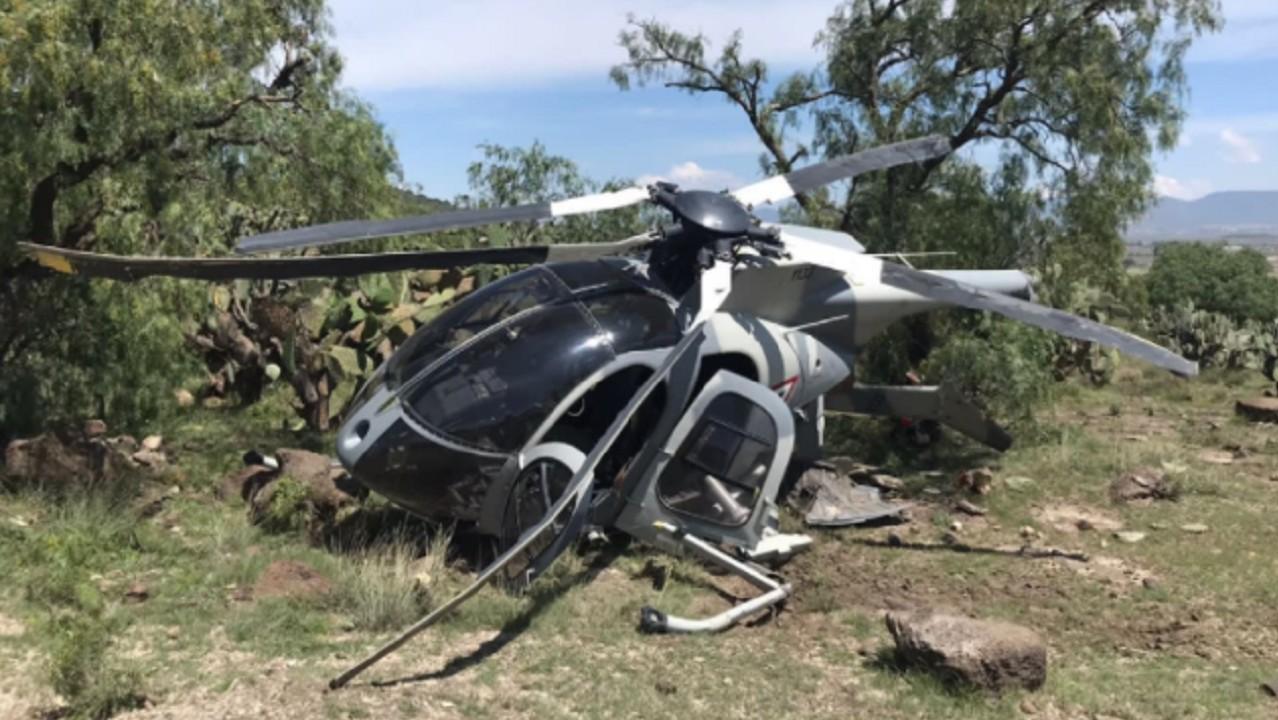 Helicóptero-de-Sedena-realiza-aterrizaje-forzoso-en-Edomex