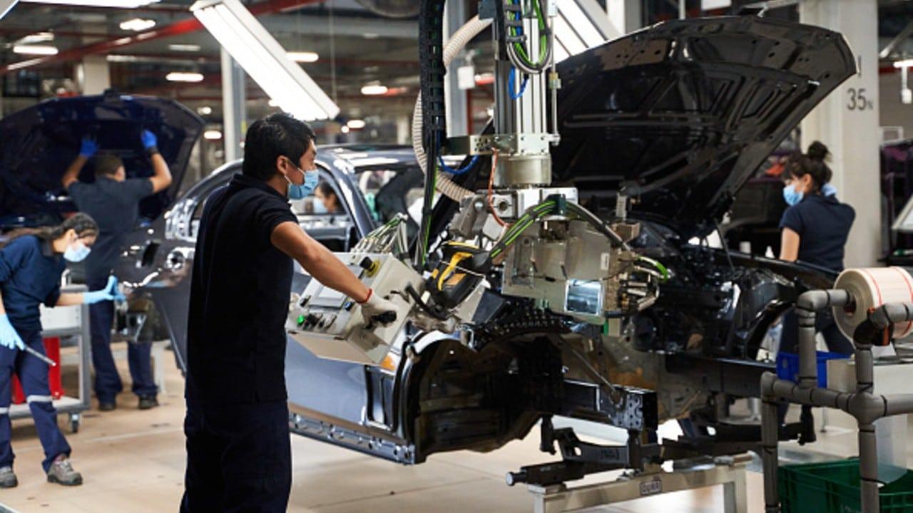 Actividad industrial en México