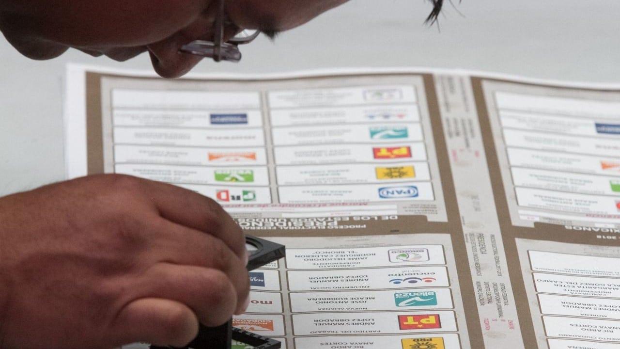 Que partidos políticos podrían perder el registro