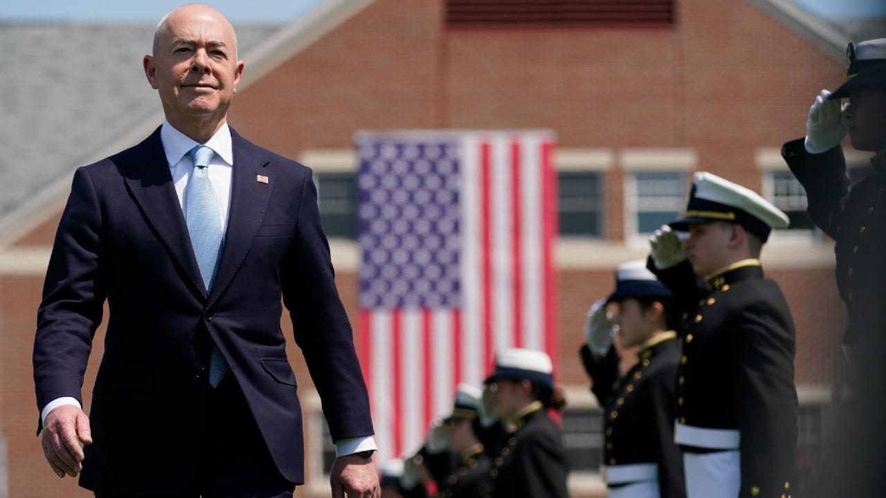 El secretario de Seguridad Nacional de Estados Unidos, Alejandro Mayorkas.