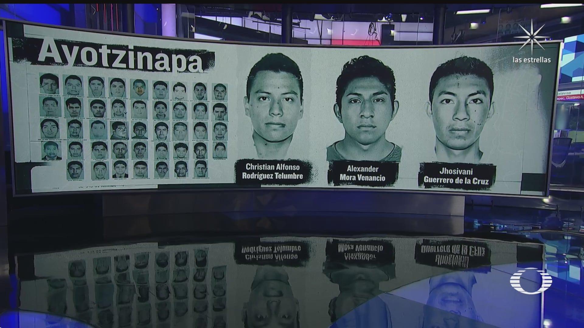 amlo se reune con familiares de los 43 normalistas de ayotzinapa y revela identidad de restos hallados en cocula