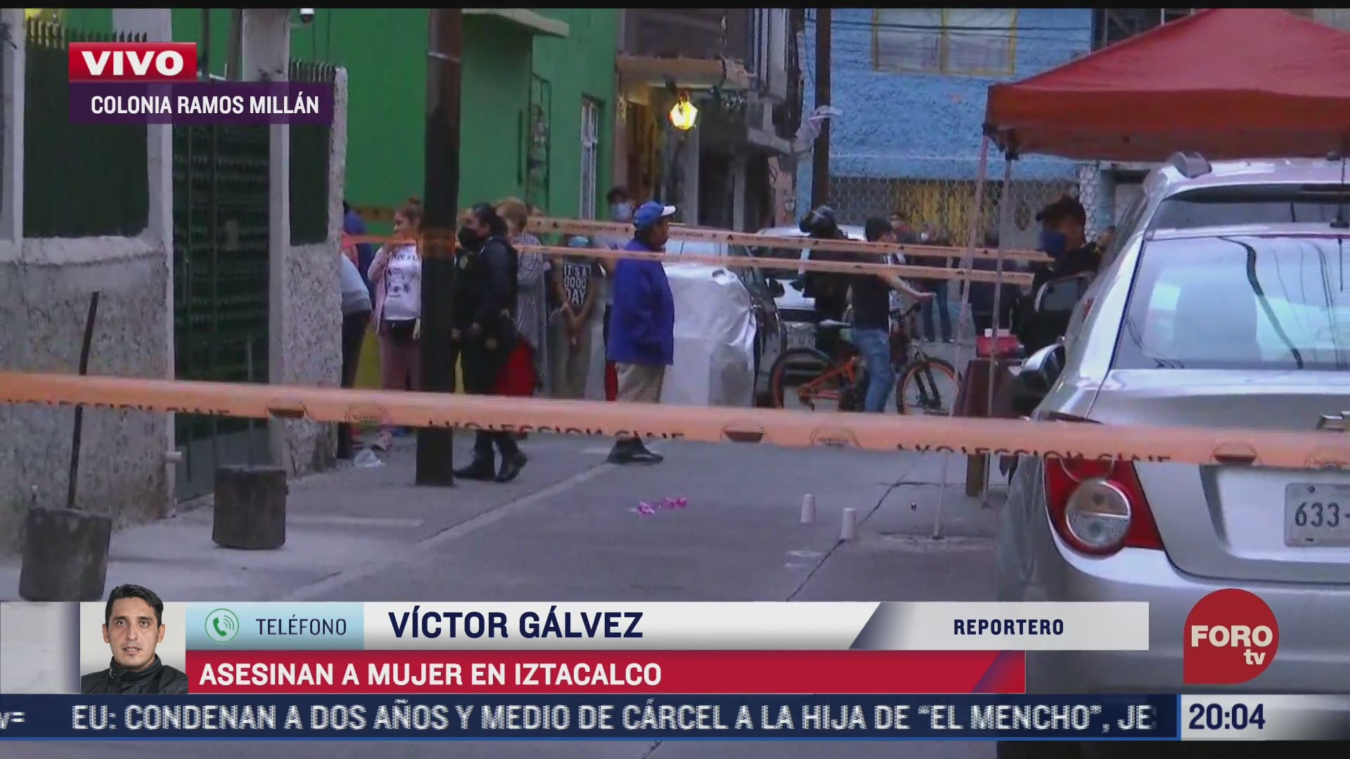 asesinan a balazos a una mujer en la alcaldia iztacalco
