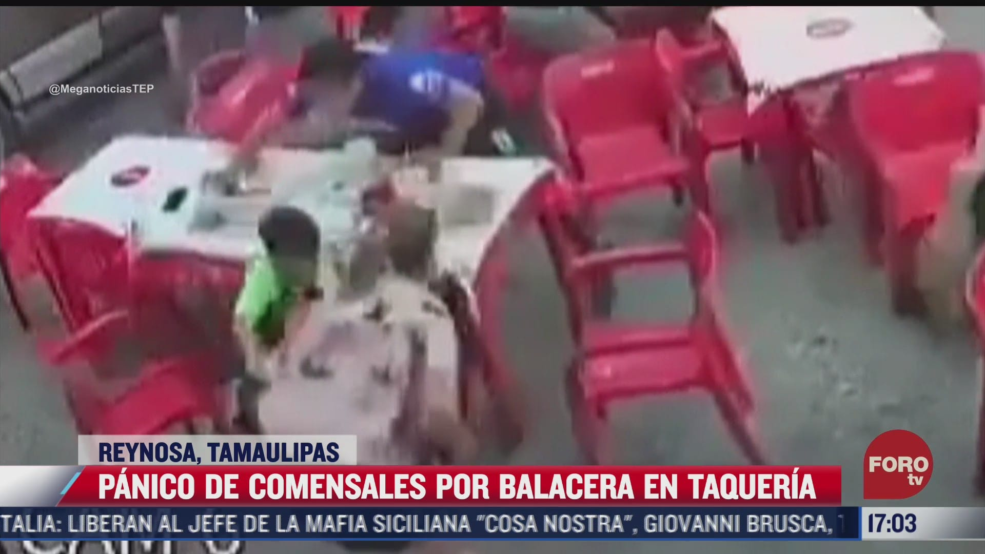 asi fue la balacera en esta taqueria en reynosa tamaulipas