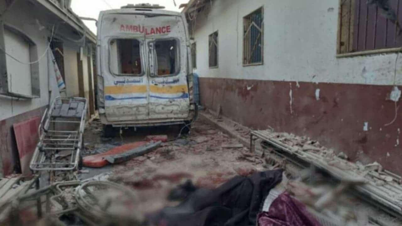 Ataque a hospital de Siria deja decenas de muertos y heridos