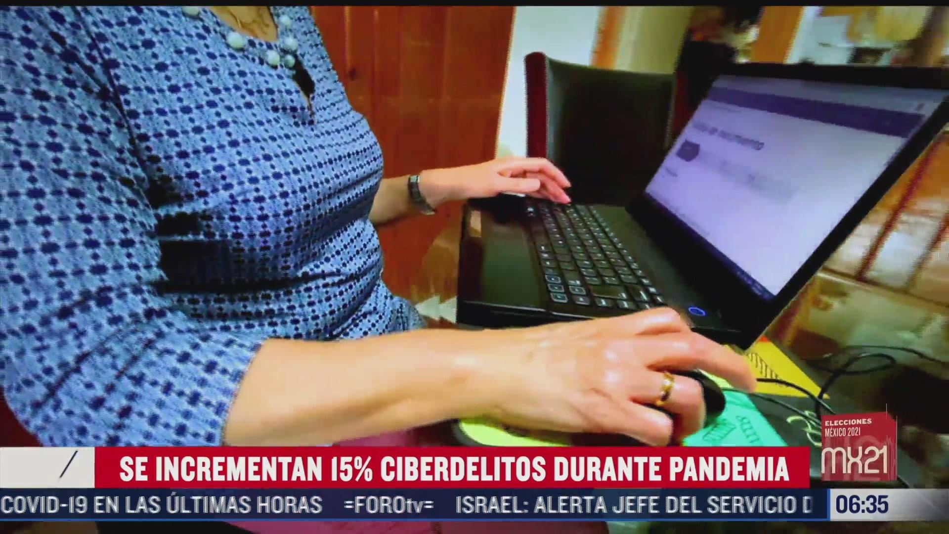 aumentaron los ciberdelitos en los ultimos 6 meses durante pandemia covid