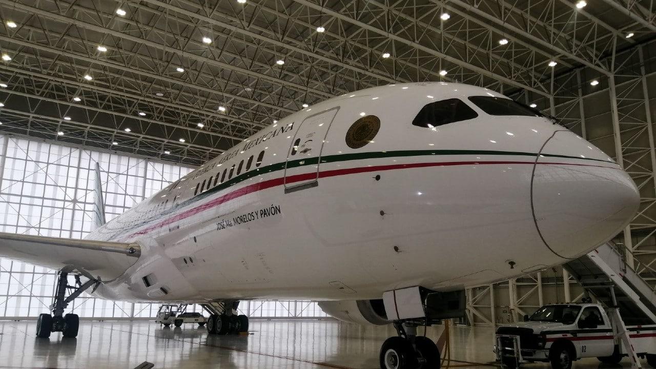 El avión presidencial