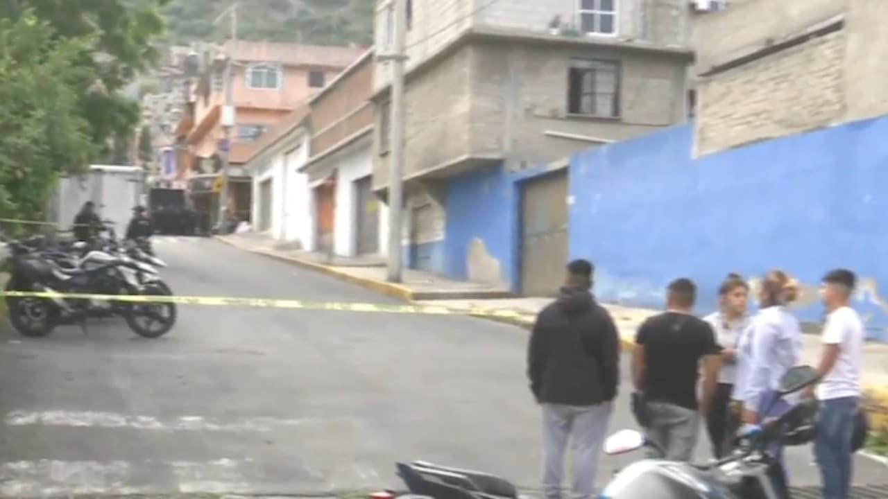 Balacera en calles de Cuautepec, alcaldía Gustavo A. Madero (FOROtv)
