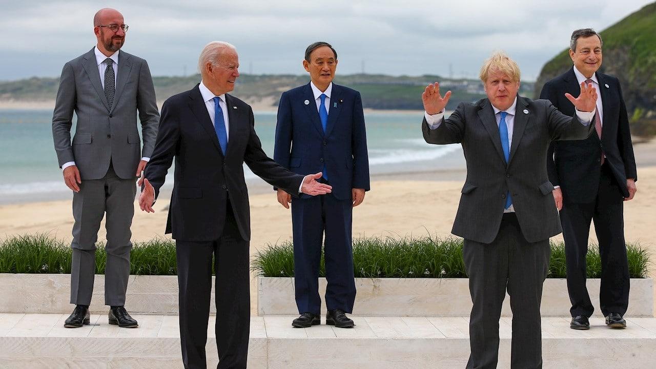 Líderes del G7 exigen a China investigación completa sobre el origen del COVID-19
