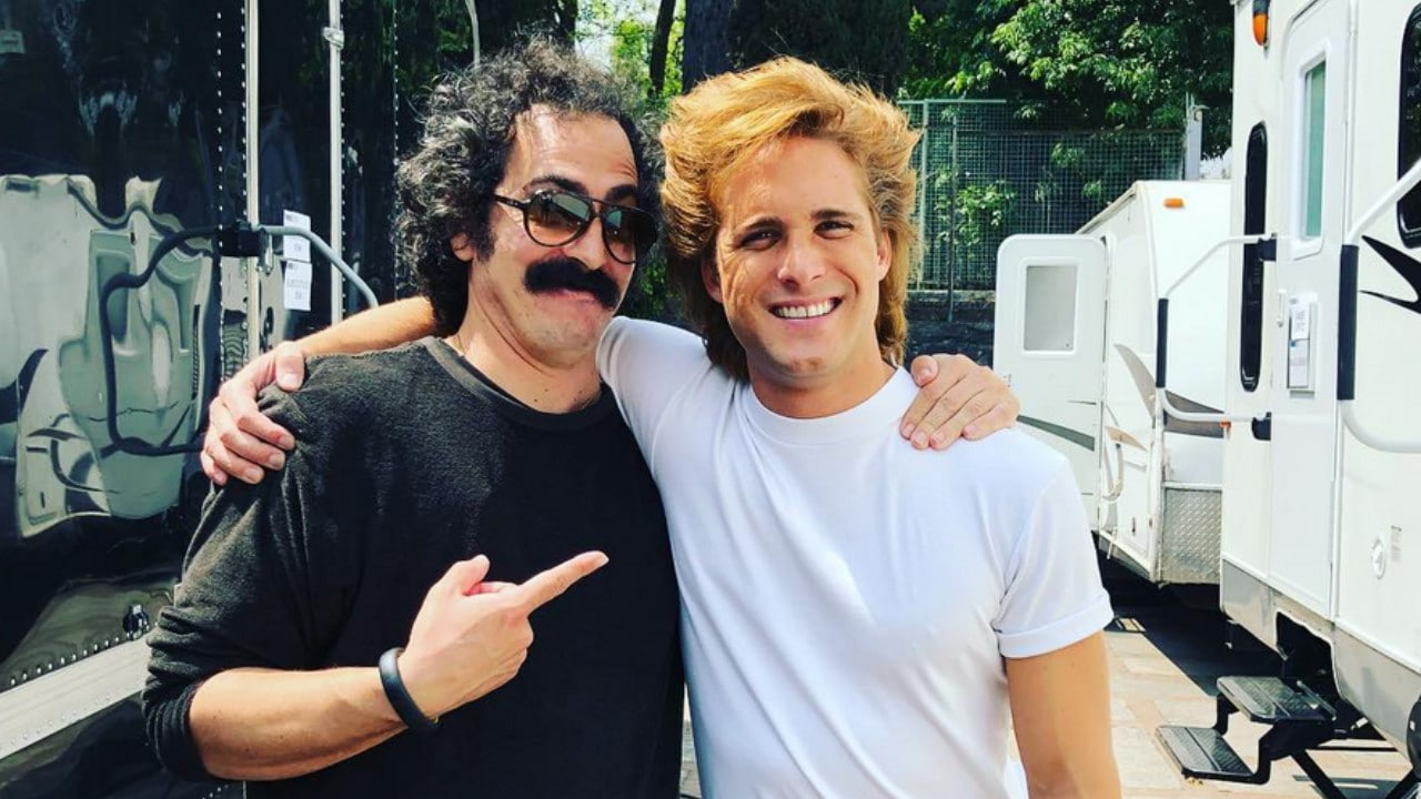 Martín Bello, Diego Boneta, Luis Miguel, Instagram