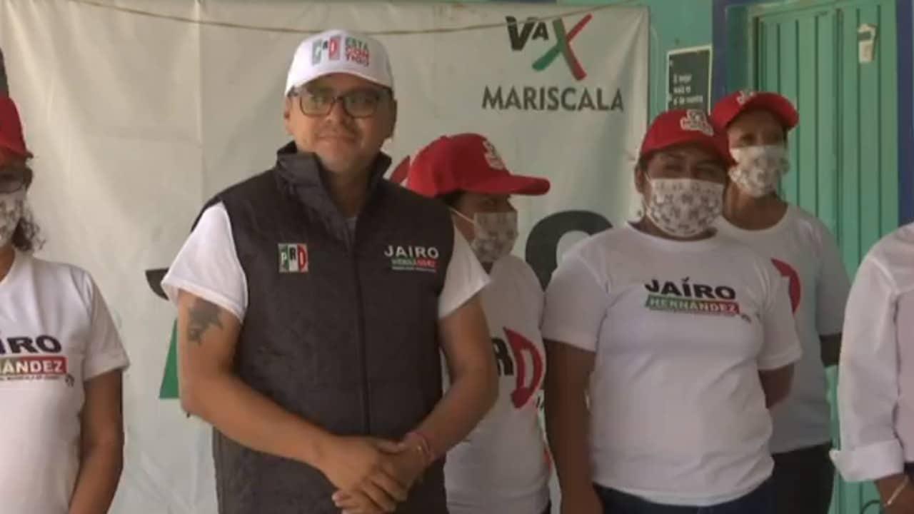 Candidato del PRI a la presidencia municipal de Mariscala de Juárez cierra campaña a pesar de que fue atacado a balazos