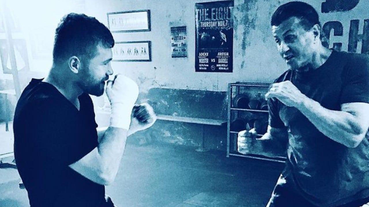 Canelo Álvarez y Sylvester Stallone se toman foto viral