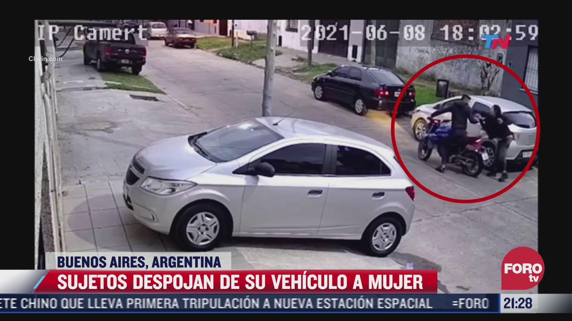 captan asalto a mujer en buenos aires argentina