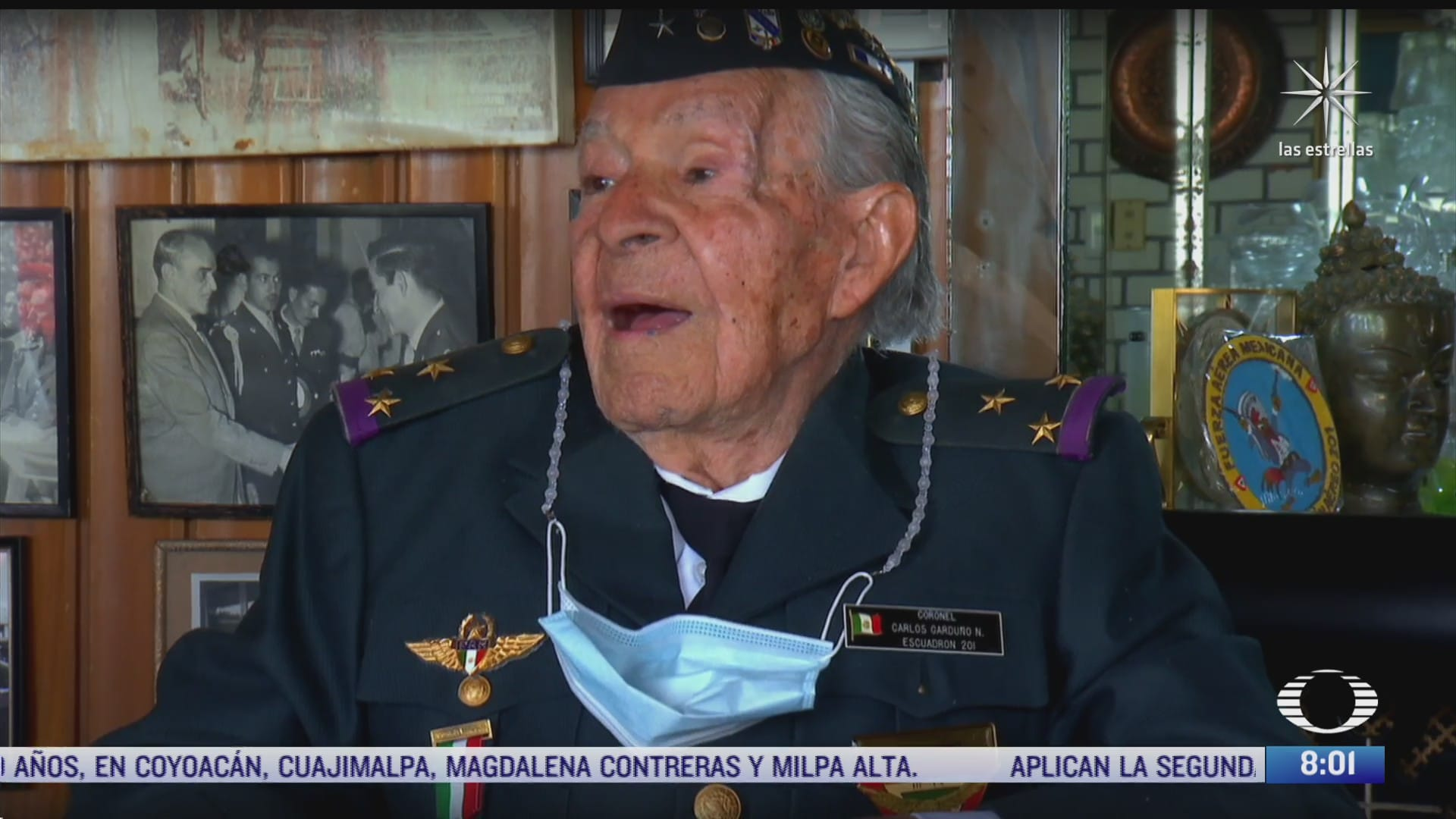 carlos garduno coronel sobreviviente del escuadron