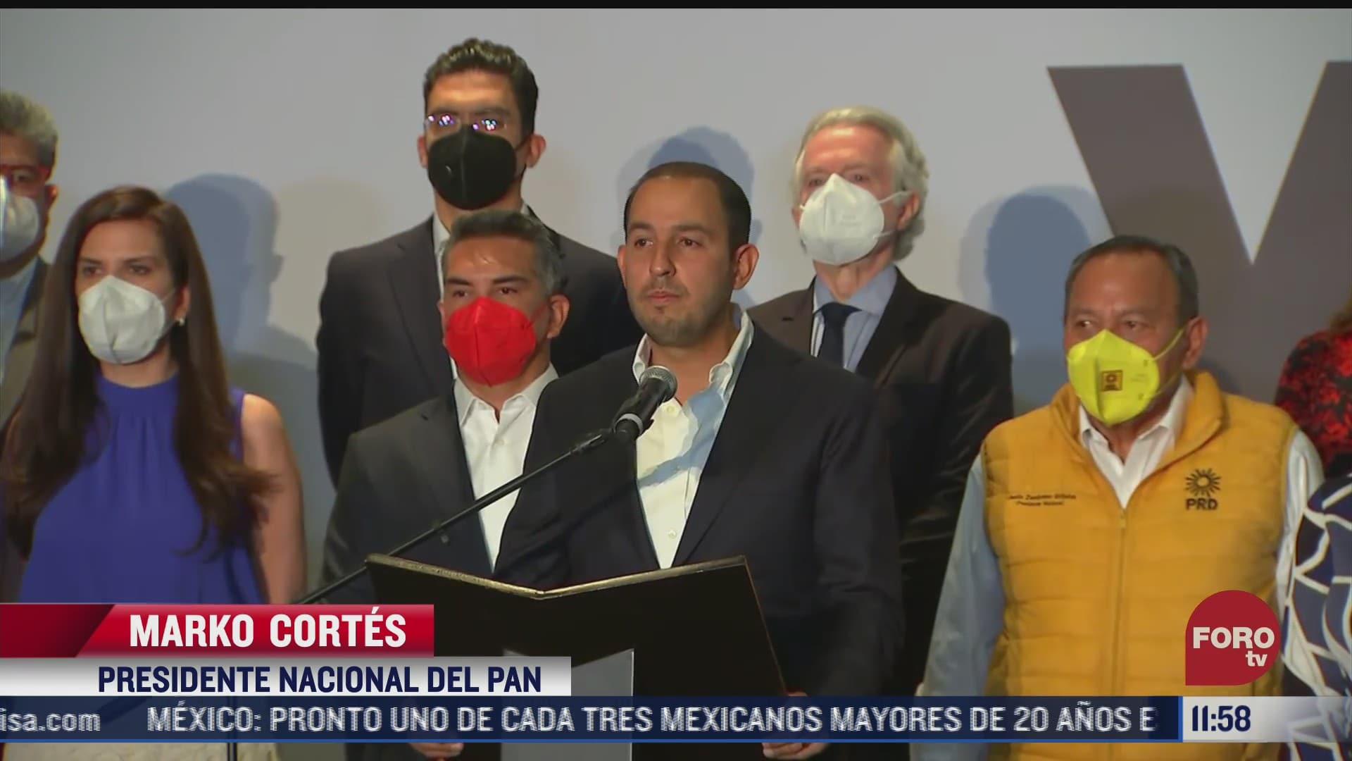 coalicion va por mexico agradece participacion de mexicanos en elecciones