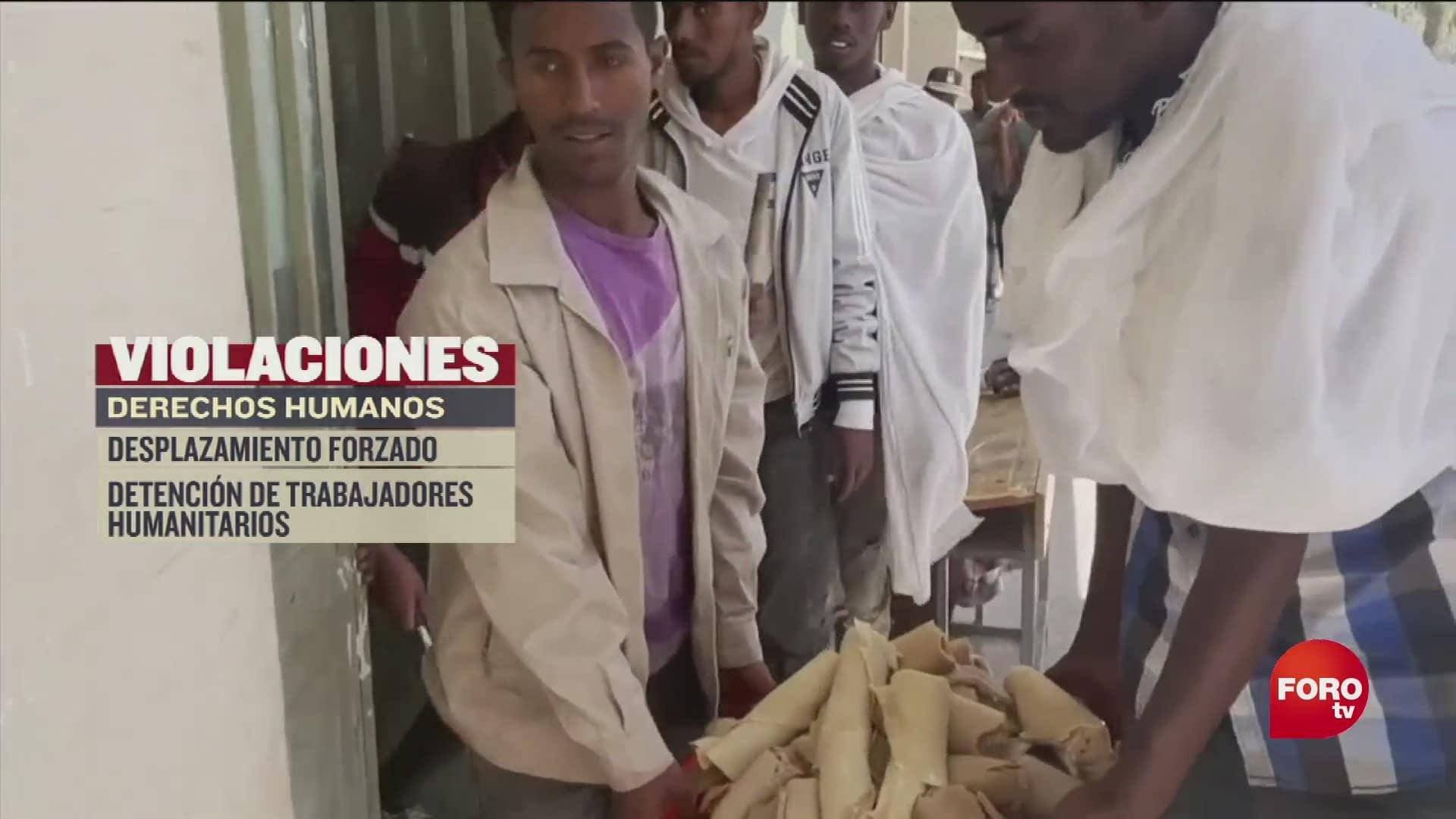 conflicto en la region de tigray en etiopia provoca aumento de hambruna