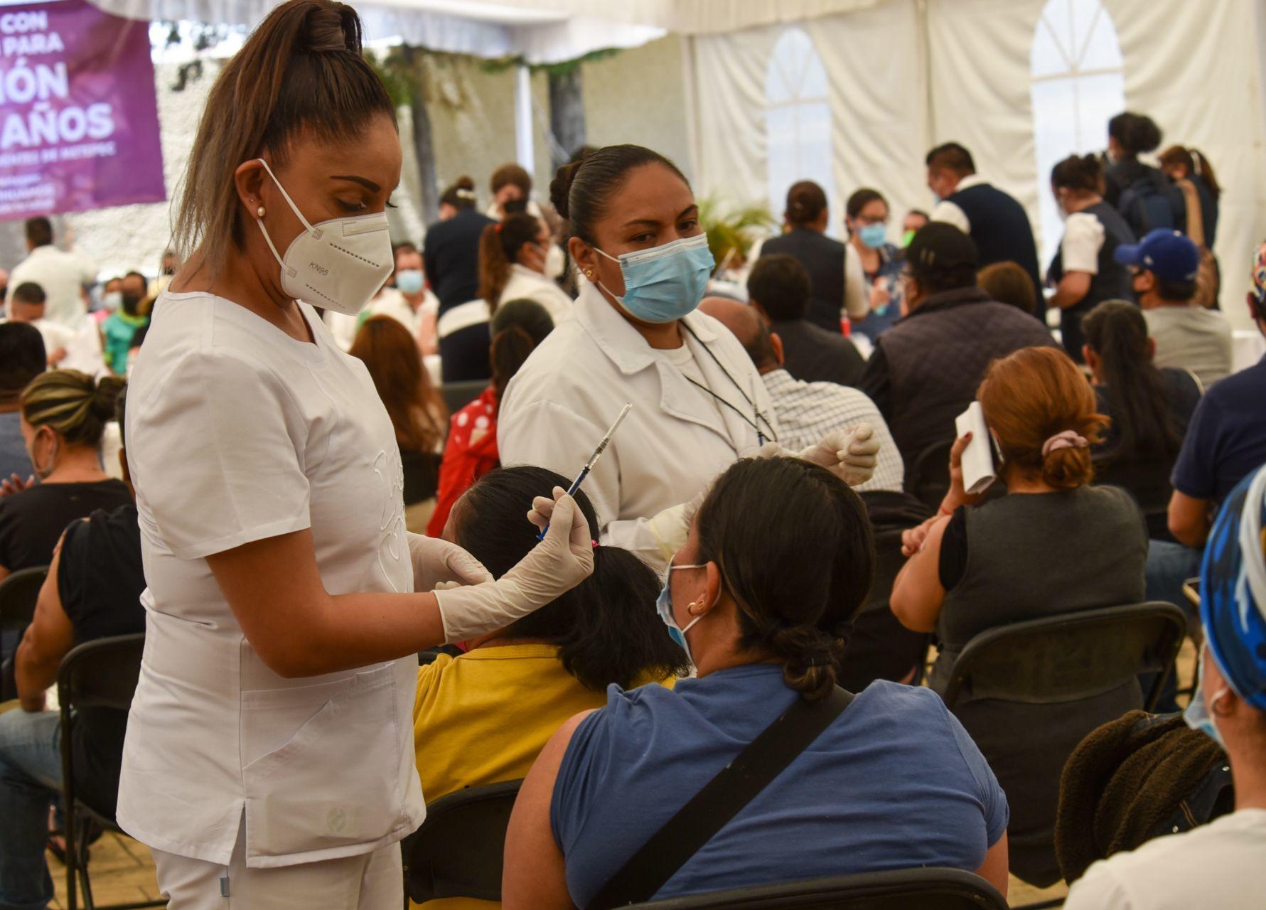 Inicia aplicación de la segunda dosis contra el COVID-19 en la alcaldía Cuauhtémoc