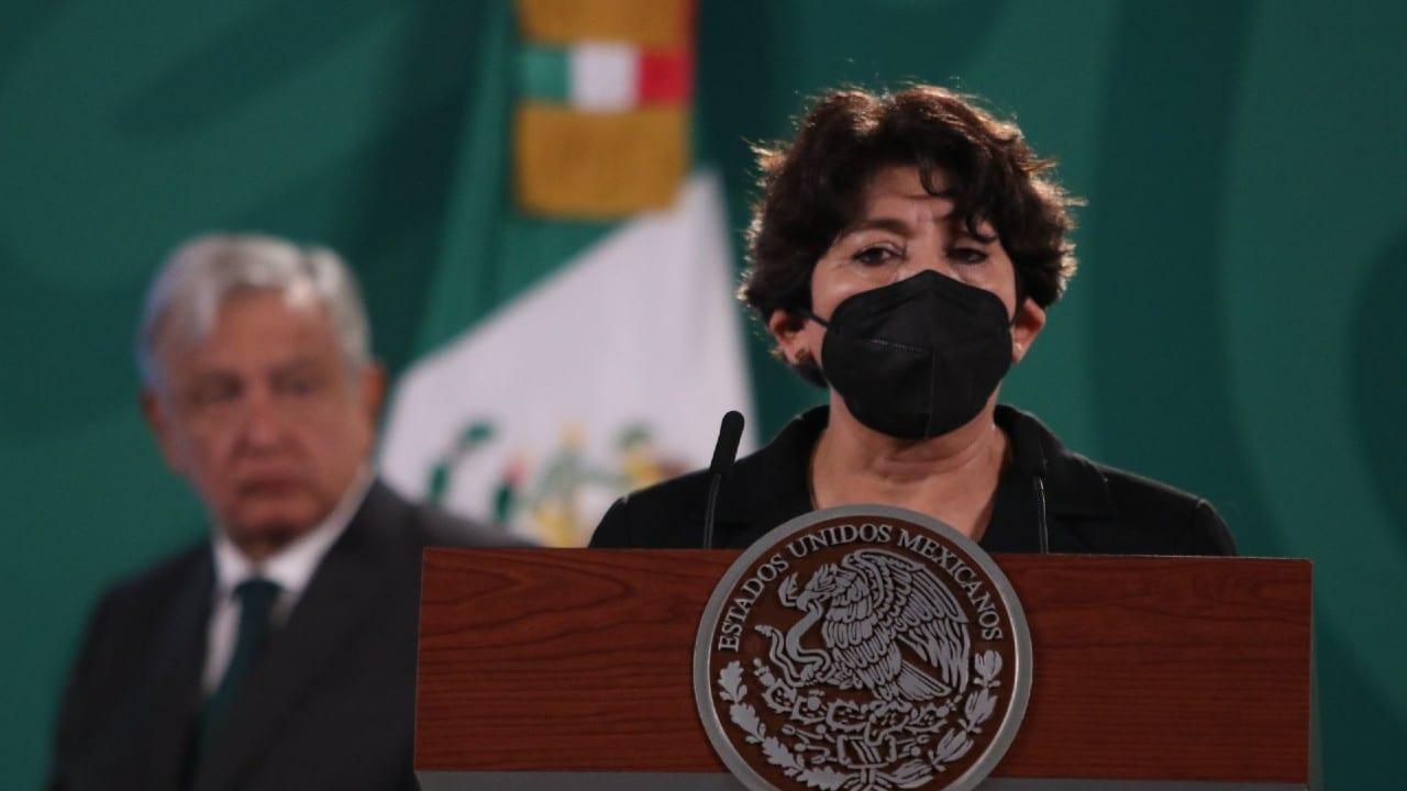 Delfina Gómez Álvarez, secretaria de Educación Pública