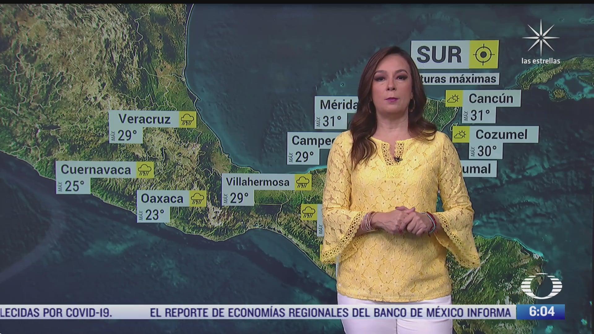 depresion tropical 4 e provocara lluvias en mexico