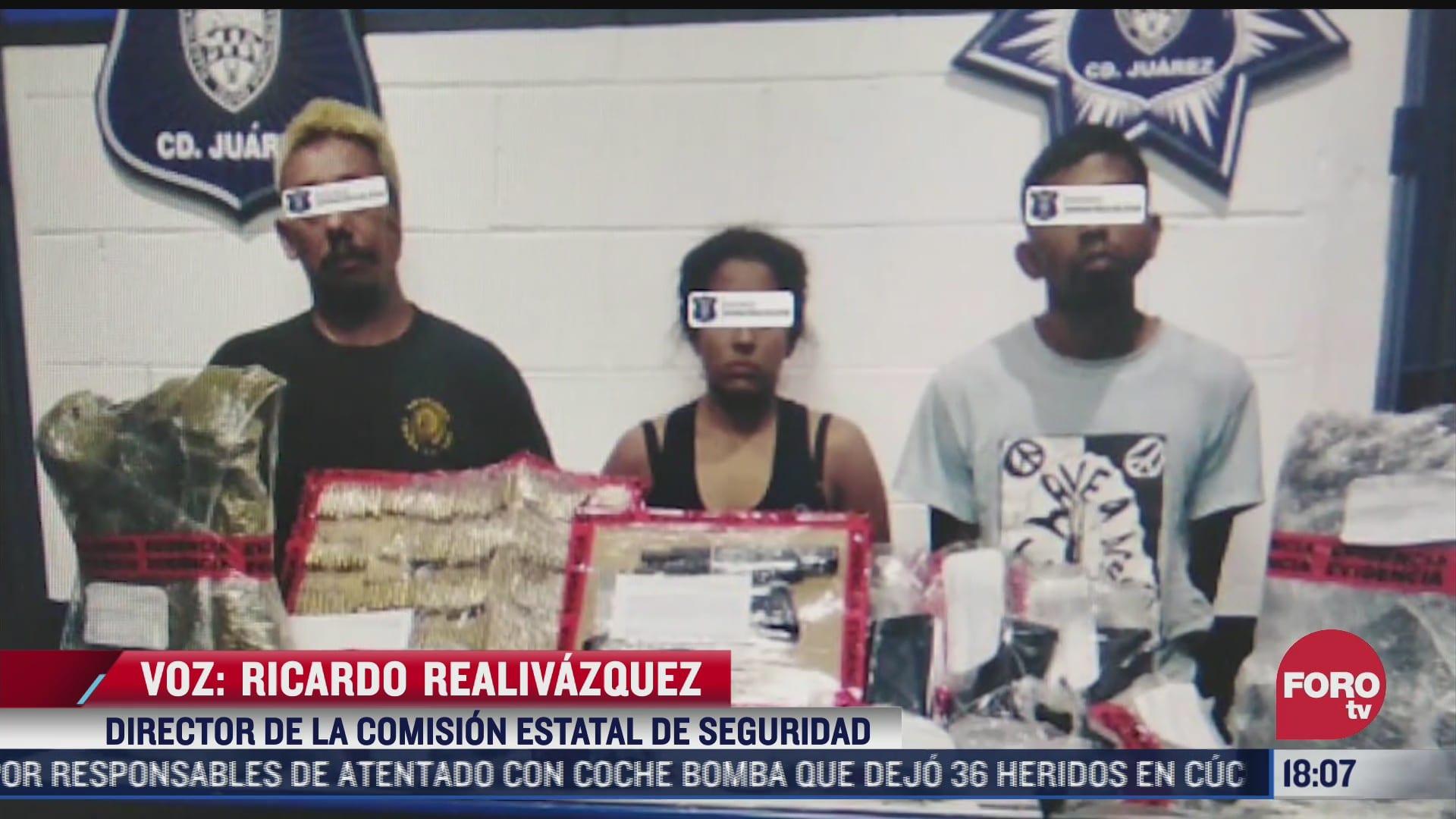 detienen a 14 por ataques a policias en ciudad juarez chihuahua