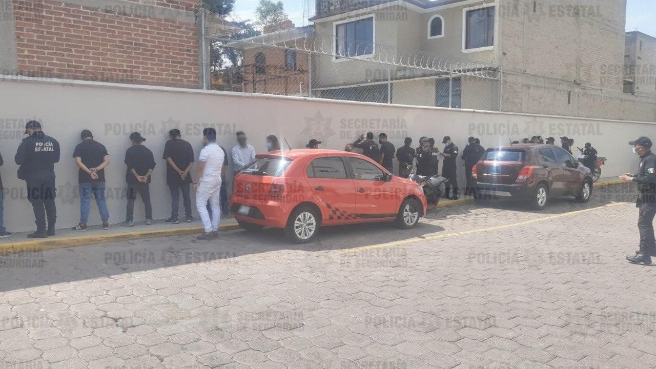 Detienen a 23 personas con gas lacrimógeno que podrían generar disturbios en Tecámac