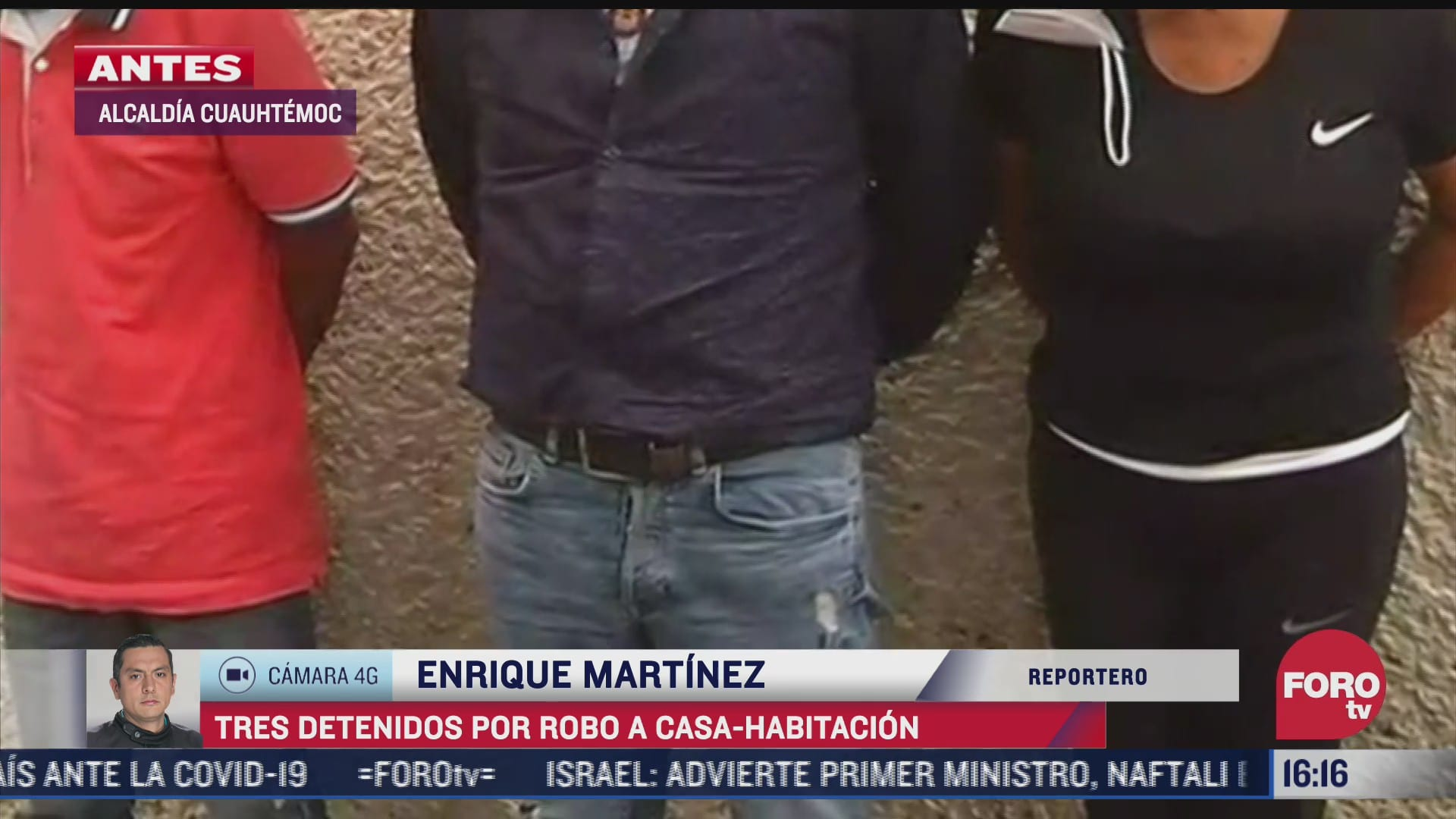 detienen a tres colombianos por robo a casa habitacion en la cdmx