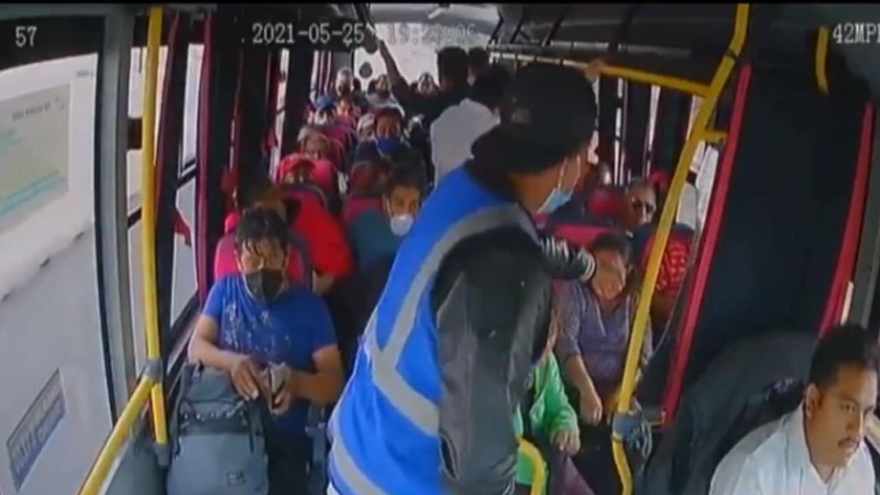 Detienen a dos implicados en asalto a transporte público en Tecámac