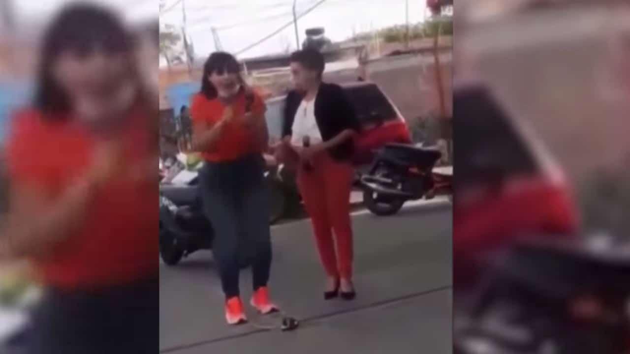 Difunden video del momento en que candidata de MC en Moroleón fue asesinada durante mitin