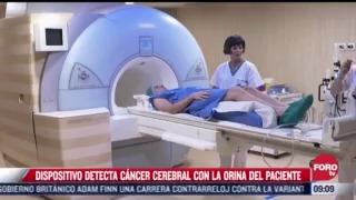 dispositivo detecta cancer cerebral con la orina del paciente